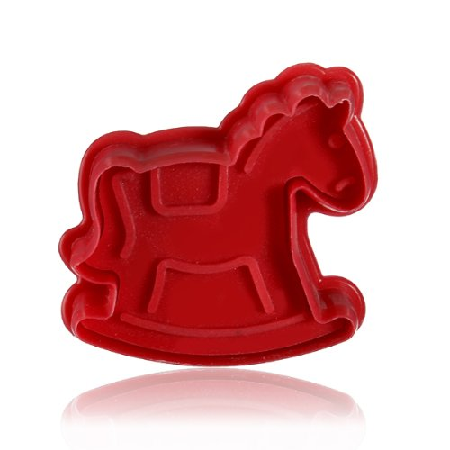 Stereo Diy Cartoon Trojan Shape Cookie Cake Mold front-536018