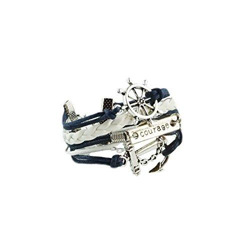 bracelet-infini-ancre-karma-infinity-bleu-marine