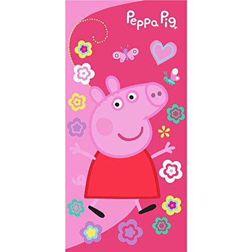 Peppa Pig Beach Towel Swim Garden