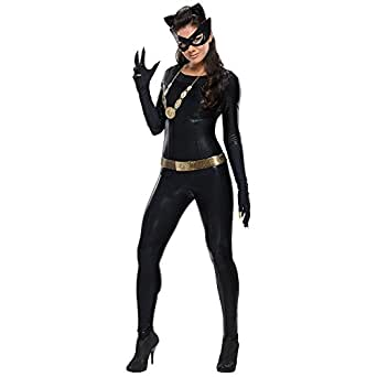 Warner Bros. Women's Batman 1966 Catwoman Grand Heritage Costume
