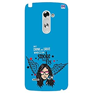 Smoke & Fly - Mobile Back Case Cover For LG G3 Stylus