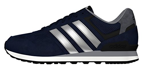 adidas RUNEO 10K - Scarpe da ginnastica da Uomo, taglia 41 1/3, colore Blu