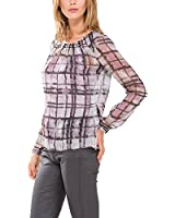 Comma Damen Regular Fit Bluse 81.409.11.3470