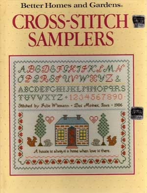 Cross Stitch Samplers Better Homes And Gardens Better