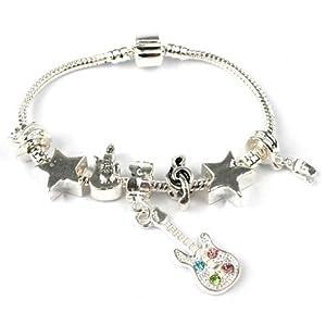 Bling Rocks Teenager/Tween 'Rockstar ' Silver Sparkle Star ...