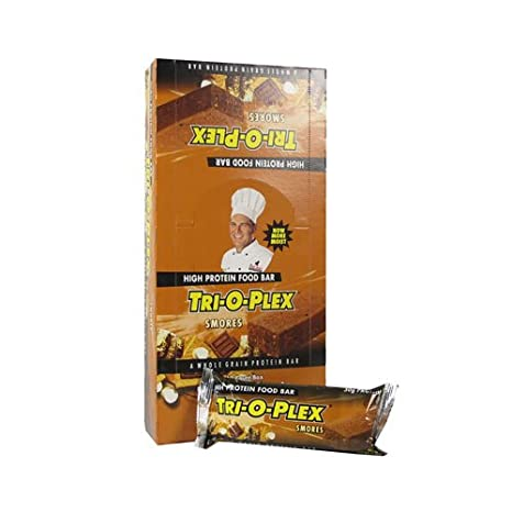 Chef Jays / Tri-o-plex Protein Bar (12x118g) Banana Walnut