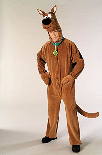 Scooby Doo Adult Halloween Costume - Most Adults