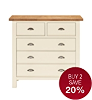 Padstow 3+2 Drawer Chest