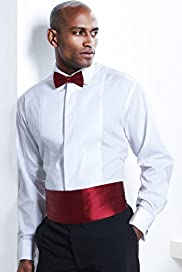 Pure Silk Plain Bow Tie & Cummerbund