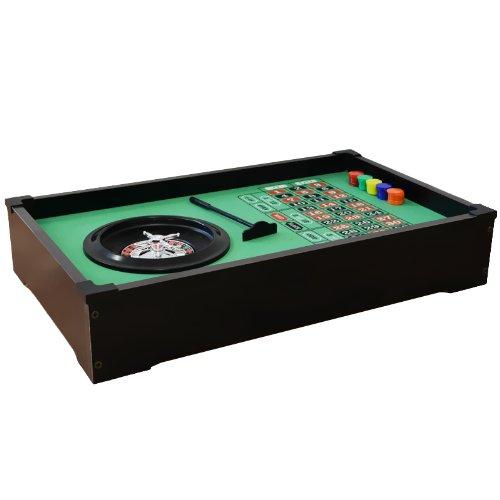 Jeu de roulette - Table à roulette - Table casino avec équipement