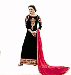 Kashmira's georgette party wear embroidered suit