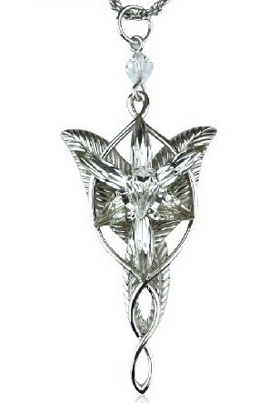 Lord of the Rings Arwen Evenstar Silver Alloy Necklace