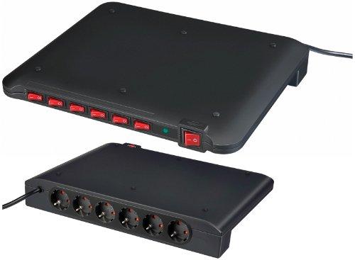 Brennenstuhl Power Manager PMA 15.000 A 6-fach 2m schwarz