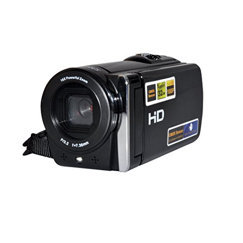 "Dfun STD002 16MP Digital Camcorder Kamera DV Videorecorder mit 3.0"" Display 16 x digitaler Zoom"
