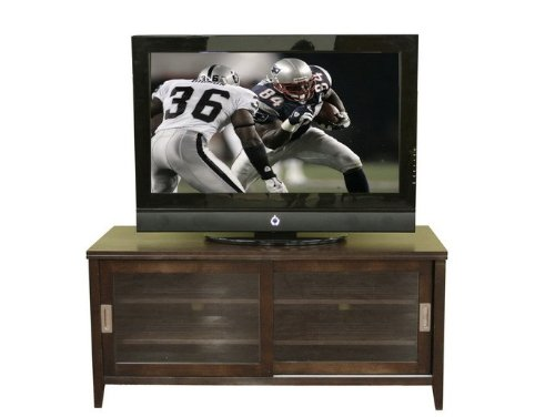 Cheap Entertainment TV Stand Console Table – Chocolate Brown (VF_WI-88631-CHOCOLATE)