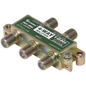 Steren 201-204 1 Ghz 90 Db Splitter (4 Way)