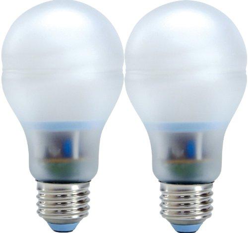 Ge Lighting 64159 Energy Smart Bright From The Start Cfl 15-Watt (60-Watt Replacement) 800-Lumen A19 Light Bulb With Medium Base, 2-Pack