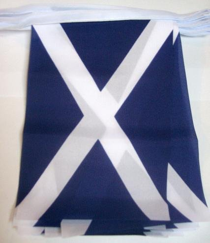 3M 10 Flag Scotland St Andrews Scottish Material Bunting