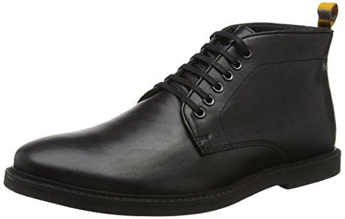 Frank WrightCorby - Stivaletti uomo, colore nero (black leather), taglia 43 (9 UK)