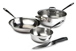 Emerilware Stainless Steel 4 Piece Chef's Essentials Set