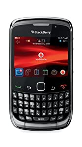 Blackberry Curve 3G 9300 Mobile Phone on Vodafone Pay As You Go (PAYG) Black-Chrome