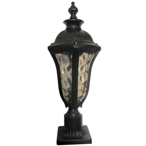 Outdoor Post Light Replacement Glass: Yosemite Home Decor 326SPIWB Straford 1-Light Outdoor Post