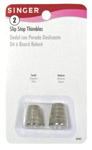 Check Out This Singer Slip Stop Thimbles, 2 Sizes, Small and Medium
