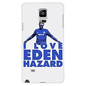 Jugaaduu Chelsea Back Cover Case For Samsung Galaxy Note 4