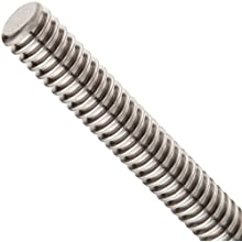 THK Lead Screw Shaft Model CS16, 16mm Outer Diameter x 500mm Length, 3mm Lead