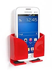 Riona Universal Acrylic Car Mobile Holder / Stand - MobiHold A6S Red MH-A6S-R