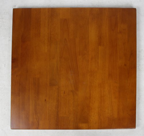 "Light Walnut Solid Wood Tabletop - 24"" X 42"" (1.25"" thickness)"