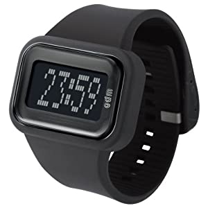 o.d.m. Men's DD125A-1 Rainbow Digital Black Watch