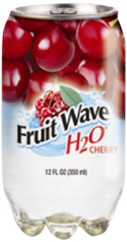 Fruit Wave H20 Pure Flavored Drink, Cherry, 12 Ounce (Pack Of 24) front-59818