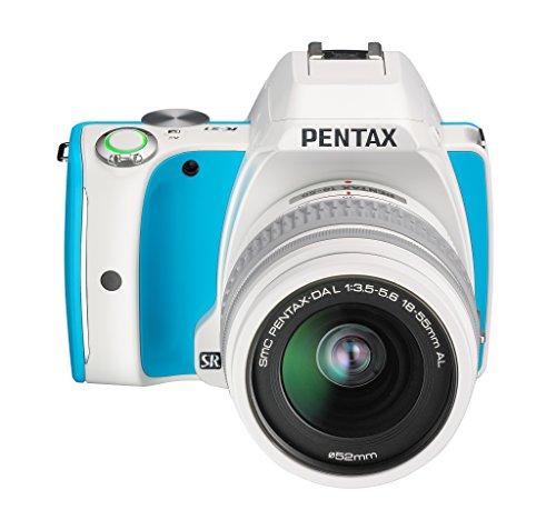Pentax K-S1 DSLR Camera - Blue Cream Soda (18-55mm Lens Kit, 20MP)