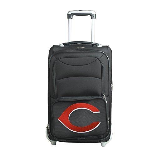 mlb-cincinnati-reds-in-line-skate-wheel-carry-on-luggage-21-inch-black-by-denco