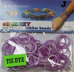 Tie Dye Rubbzy Loose Rubber Bands - 1