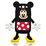 I Need's Cartoon Mouse Die-cut Silicone Cover for Samsung Galaxy S3 I9300 - Female