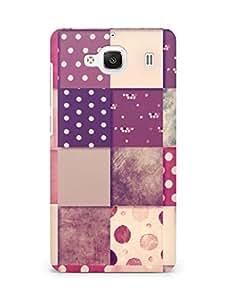 Amez designer printed 3d premium high quality back case cover for Xiaomi Redmi 2 Prime (blocks )