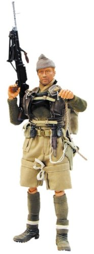 Buy Low Price Blue Box Elite Force: WWII British Army Commando Lieutenant Peter Keyes 12″ Military Action Figure (B0006N8WSS)
