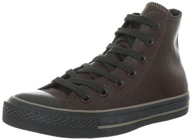 Converse Chuck Taylor All Star Leather  Chocolate 132097C, Unisex-Erwachsene Fashion Sneakers, Braun (Chocolate), EU 35 (US 3)