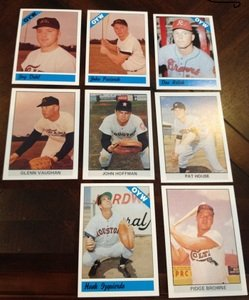 1979 1983 Fritsch One Year Winners Colt 45s Astros Team Set 8 Cards MINT by Other