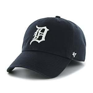 MLB Detroit Tigers Cap, Navy, X-Large