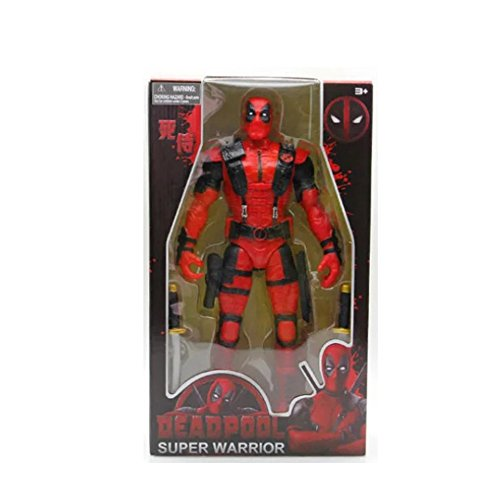 NRTS 2016 Deadpool Super Warrior Action Figure PVC 14 Inch (Deadpool Toys Action Figures compare prices)