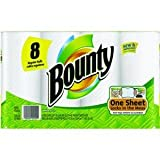 8 Count Bounty Paper Towel in White