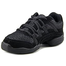 Capezio Little Kid Rockit DS24C Dance Sneaker,Black,12 M US Little Kid