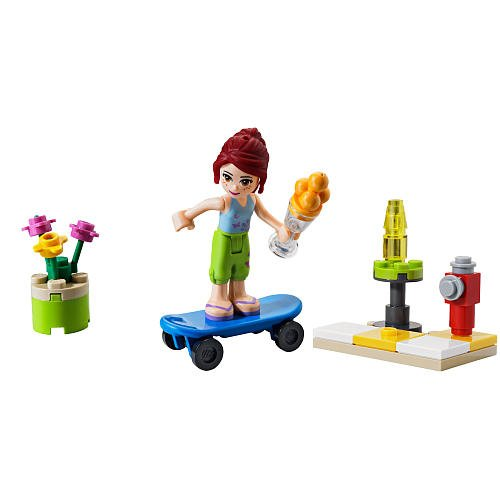 LEGO Friends Set #30101 Skateboarder Bagged