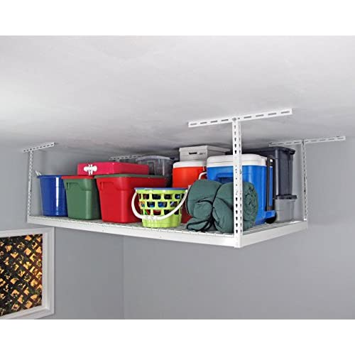 SafeRacks - 4x8 Overhead Storage Rack Heavy Duty (24-45