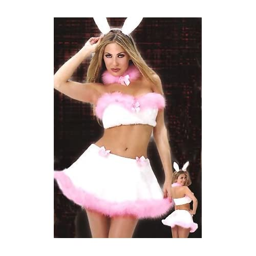 Sexy Halloween Costumes: Hot Girls in Hunny Bunny - Women's Sexy Bunny Costume Lingerie