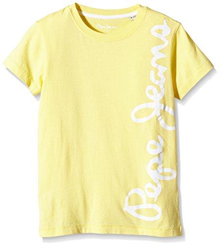 Pepe Jeans WALDO SHORT-T-shirt  Bambino    Giallo ( Yellow ) 10 anni