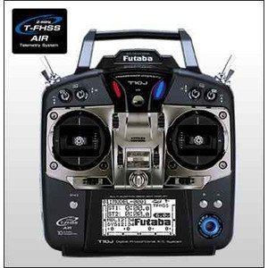 10J (10ch-2.4GHz T-FHSS AIRモデル) ヘリ用T/Rセット 【フタバ:026355 プロポ】